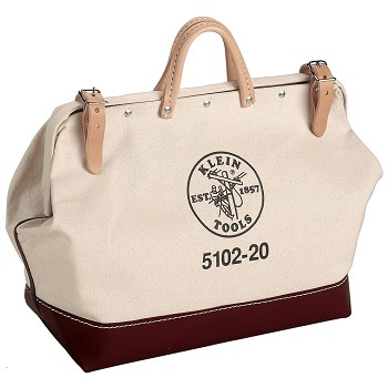 "Klein Tools 5102-20 20"" Canvas Tool Bag"