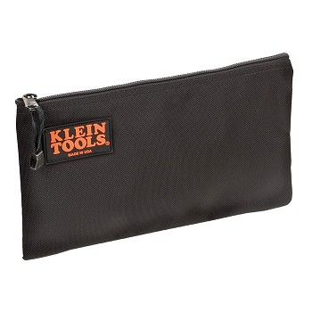 Klein Tools 5139B Black Nylon Zipper Bag