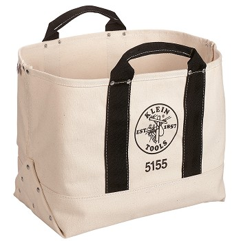 "Klein Tools 5155 17"" (432 mm) Canvas Tool Bag"