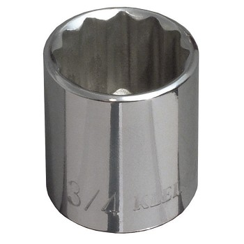 "Klein Tools 65704 5/8"" Std 12-Point Socket - 3/8"" Drive"