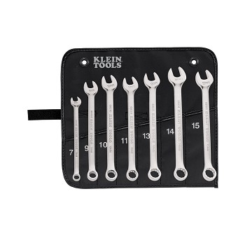 Klein Tools 68500 7 Piece Metric Combination Wrench Set