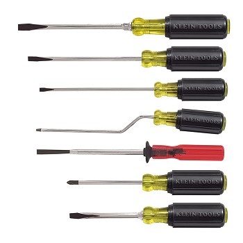 Klein Tools 85077 Multi Application Screwdriver Set 7 Pc
