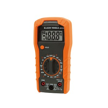 Klein Tools MM300 Digital Multimeter, Manual-Ranging, 600V