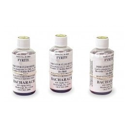 Bacharach 0010-5060 Fyrite Oxygen Fluid, 3 bottle carton, 21 And 60