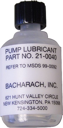Bacharach Smoke Pump Lubricant
