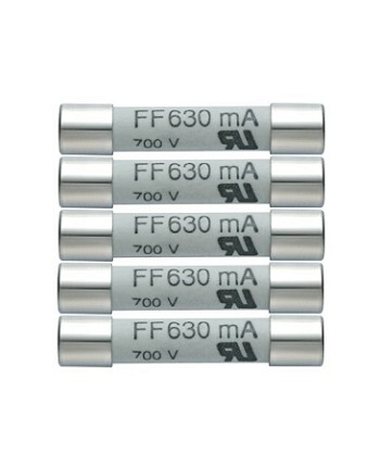 Testo 0590 0007 Replacement Fuses 440 mA/600V (pack of 5)