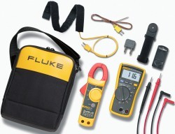 Fluke 116/323 HVAC Multimeter and Meter Combo Kit