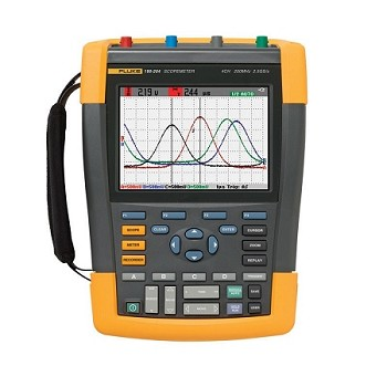 Fluke-190-204/AM/S Scopemeter 4 Channel 200 MHZ Color Americas SCC