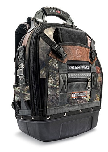 Veto TECH-PAC CAMO Large Tool Backpack - Mossy Oak