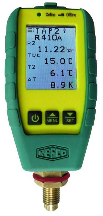 Refco 4687787 TAP Wireless Digital Pressure Gauge