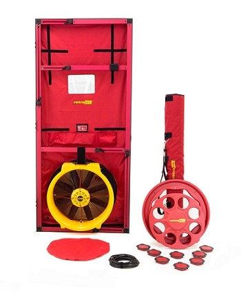 Retrotec US5100 Blower Door - no Gauge
