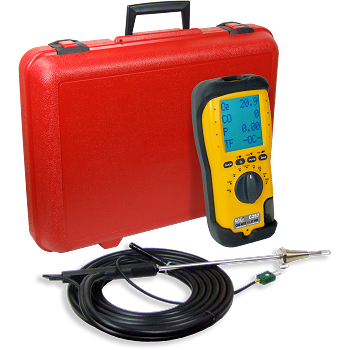 UEI C257 EOS Industrial Combustion Analyzer w/nox