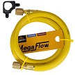 Appion MH380004AAY 3/8  Dia. Hose, 4-foot, 1/4 FL to 1/4.FL Yellow