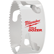 "Milwaukee 3-1/2"" Hole Dozer Bi-Metal Hole Saw 49-56-0193"
