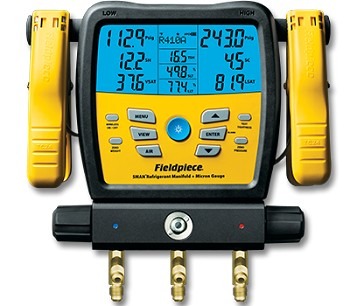 Fieldpiece SM380V Digital Manifold with Micron Gauge