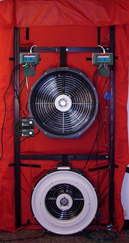 TEC Minneapolis Blower Door System - Model 3 Two Fan System with DG-1000s