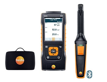 Testo 440 CO2 Kit with Bluetooth