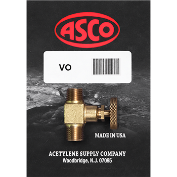 ASCO VO Replacement Valve for the BV Torch
