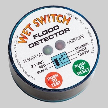 WS-1 DiversiTech Wet Switch Flood Detector