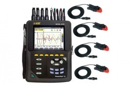 AEMC 8336 PowerPad III Power Quality Analyzer with MN193 Current Probes