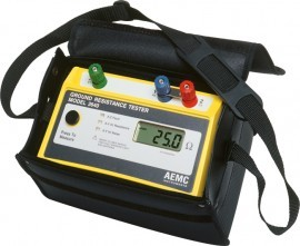 AEMC 3640 Digital Ground Resistance Tester - 3-Points