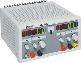 AEMC AX502 DC Power Supply - 2 Outputs, 0-2.5A, 0-30V DC