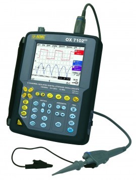 AEMC OX7102 Handheld Oscilloscope - 2-Channel, 100MHz