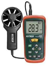 Extech CFM/CMM Mini Thermo-Anemometer