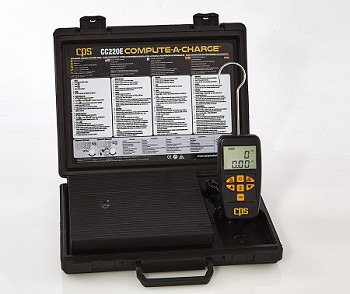 CPS CC220E Semi-Programmable 220 lb Electronic Scale