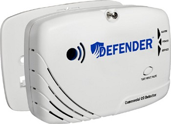 Defender CD8110 Battery Powered Commercial CO Detector (OSHA)