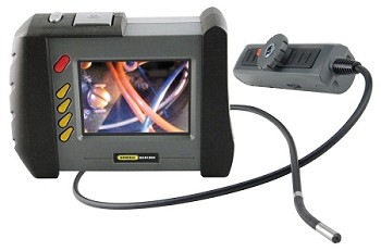 High-Performance Wireless, Articulating, Recording Video Borescope System