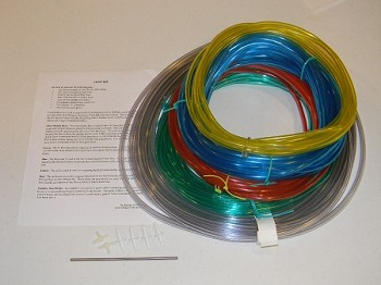 TEC Minneapolis Colored Hose Kit for Pressure Diagnostics
