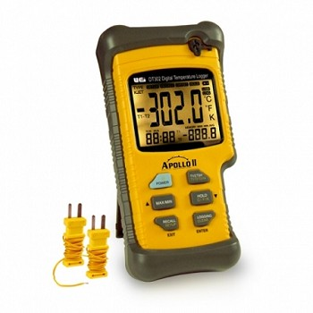 UEi DT302 Dual Input Digital Logging Thermometer