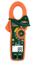 Clamp Meter, AC / DC with CAT IV Rating