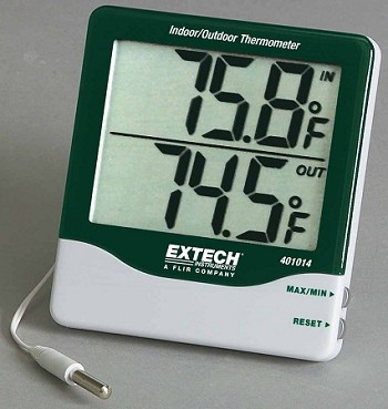 Extech Big Digit Thermometer