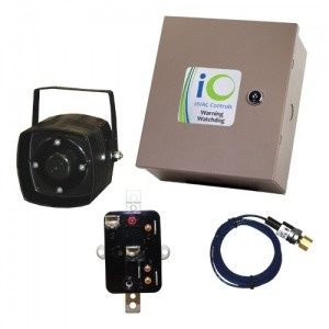 iO Hardwired Warning Watchdog Logic Panel with Siren Cut-Off Timer and Siren Silence Switch
