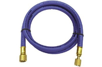 "Appion MegaFlow 6-Foot 3/8"" Dia. 1/4""FL to 1/4""FL Blue Hose"