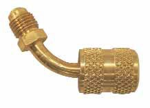 "NRP 1/4"" Anti-Blow Back Hose Adapter, 45 deg"
