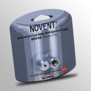 RectorSeal 86692 Novent Universal Locking Refrigerant Caps - 2 Pack