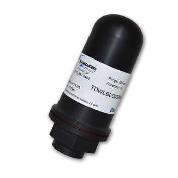 Transducers Direct LC Lightweight Wireless Pressure Transducer - 250PSI 1% Accuracy