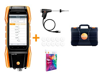 Testo 300 LL - Commercial / Industrial Combustion Analyzer