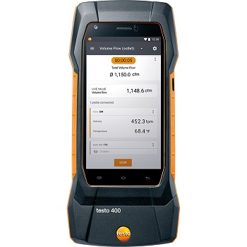 Testo 400 Universal Air Flow and IAQ Instrument