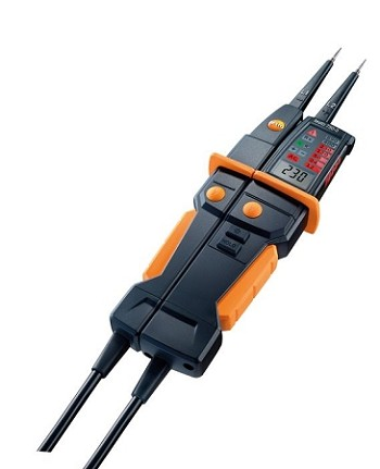 Testo 750-3 Digital Voltage Tester with GFCI Test