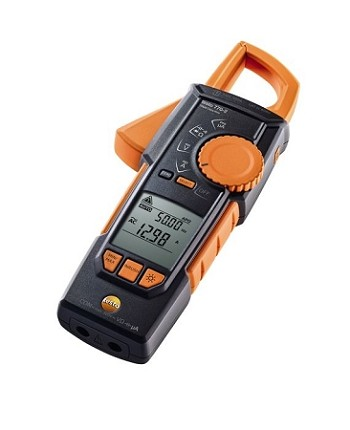 Testo 770-3 Hook-Clamp Multimeter, TRMS, InRush, 600A, Watts, Power Factor, Bluetooth