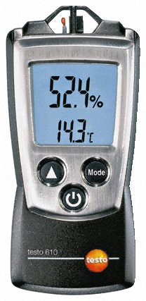 Testo 610 Humidity and Temperature Measuring Instrument