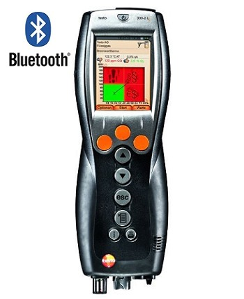 Testo 330-2G LL Commercial / Industrial Combustion Kit with Bluetooth