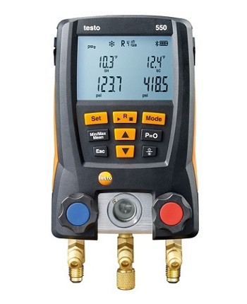 Testo 550 Digital Manifold with Bluetooth
