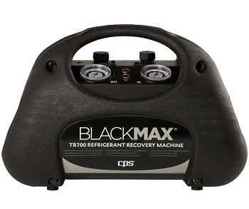 CPS TR710 BlackMax twin cylinder refrigerant recovery machine