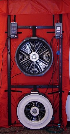 TEC Minneapolis  Blower Door Systems - Model 3 Two Fan System without DG-700's