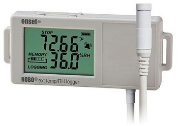 HOBO UX100-023 External Temp/RH Data Logger